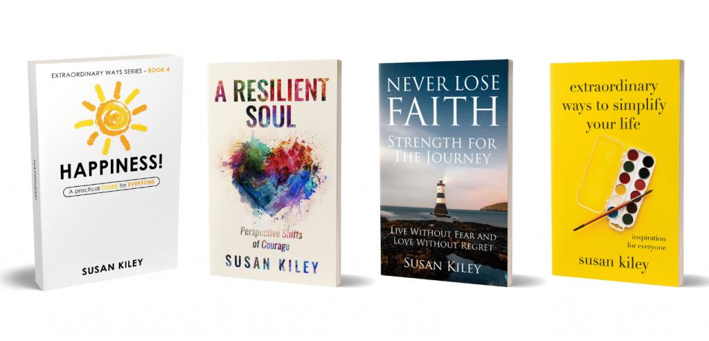 Four Books Beside each other_SusanKiley