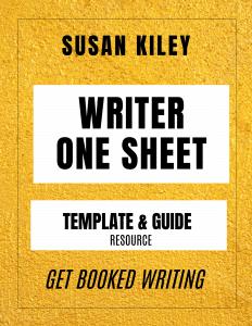 Writer One Sheet