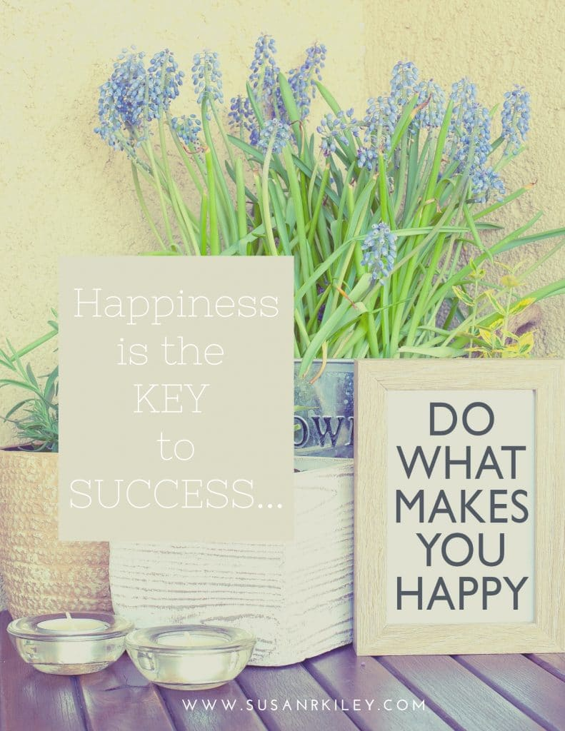 Happiness Key to Success is a Path