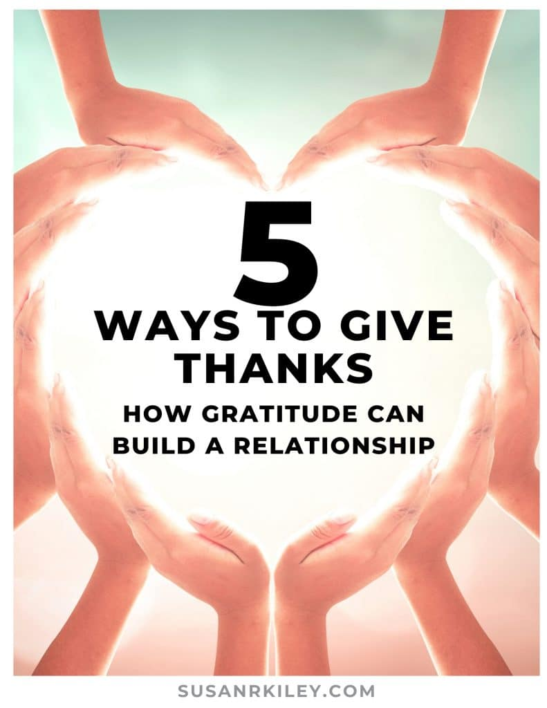 Five Ways to Give Thanks