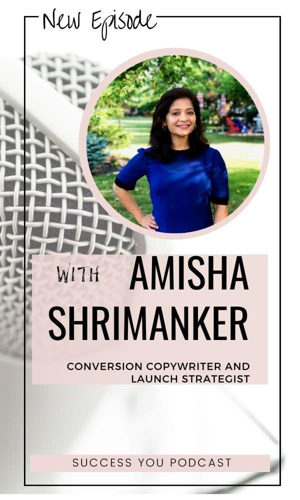 Amisha Shrimanker Copywriter