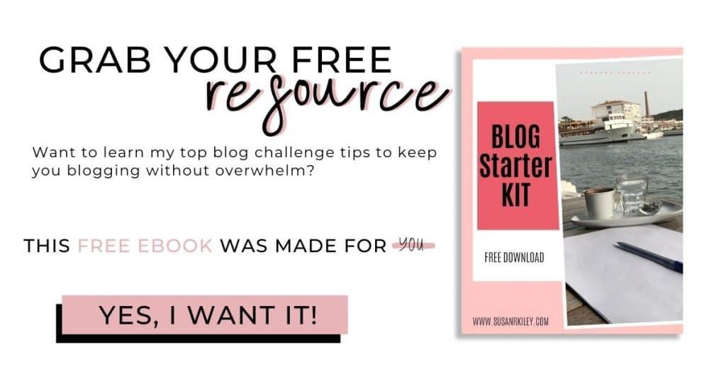 Blog Challenge Kit