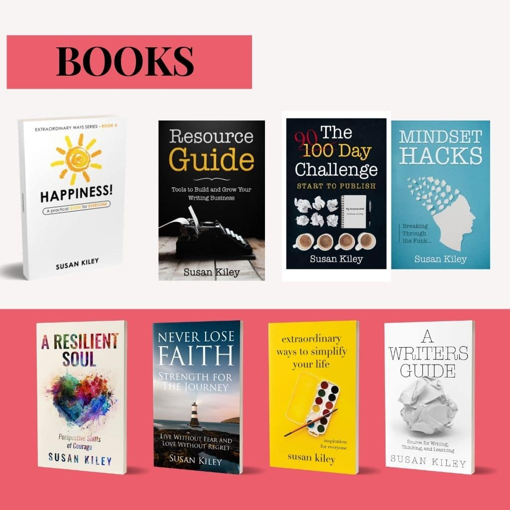 Success You Books and Resources + Susan R Kiley